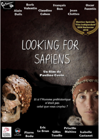 Affiche looking for sapiens capture